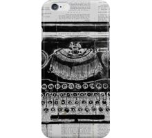 old type iPhone Case/Skin