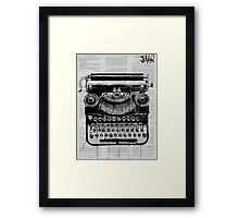 old type Framed Print