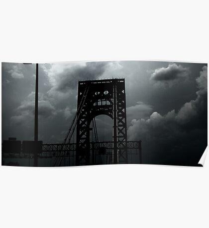 Washington Bridge Poster