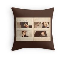 Pride and Prejudice - Hands Throw Pillow
