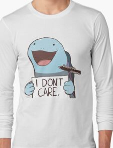 Quagsire's Unaware Activated Long Sleeve T-Shirt