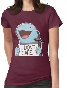 Quagsire's Unaware Activated Womens Fitted T-Shirt