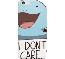 Quagsire's Unaware Activated iPhone Case/Skin