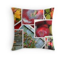 Autumn's Collage of Beauty ©  Throw Pillow