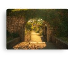 Gate in a Fairy Tale Canvas Print