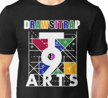 """DRAWSITRAP""The Message by tweek9arts - White/Black Colorway Unisex T-Shirt"