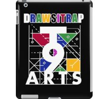 """DRAWSITRAP""The Message by tweek9arts - White/Black Colorway iPad Case/Skin"