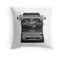 The Madison Review Typewriter Throw Pillow