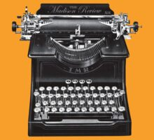 The Madison Review Typewriter by jackshoegazer
