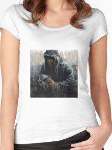 Faceless DOOM Women's Fitted Scoop T-Shirt