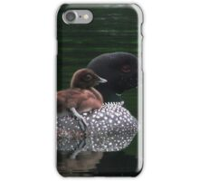 Loons of Dellview Isle iPhone Case/Skin