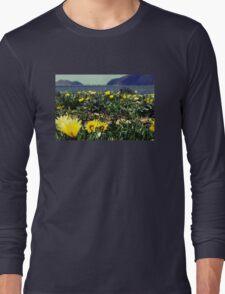 Seaside Flowers Long Sleeve T-Shirt