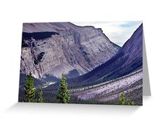 Bow River Valley Greeting Card