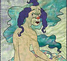 Krustina The Clown (gender swap Krusty the Clown) by SillyMaddie