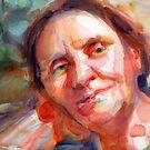 A Portrait A Day 19 - Lara's Mom by Yevgenia Watts