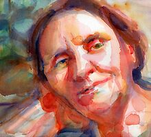 A Portrait A Day 19 - Lara's Mom by Yevgenia Watts