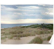 Evening Beach, Lakes Entrance Poster