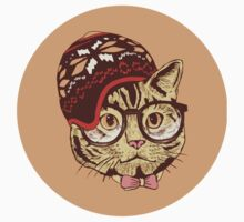 Hipster Cat by Alanna Schloss