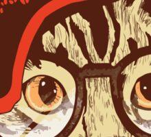 Hipster Cat 2 Sticker
