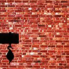 Brick Wall in a Hue of Reds by PEEP