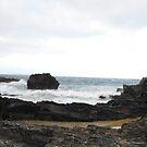 Mystery Bay Panorama by Richard  Willett