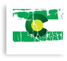 Green Colorado Canvas Print