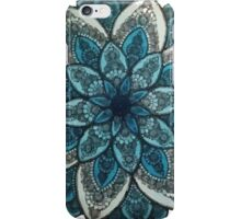 Tribal Flower Drawing iPhone Case/Skin