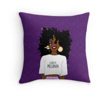 LEGALIZE MELANIN O (ABA) Throw Pillow