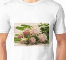 Straw Flowers And Lace Unisex T-Shirt