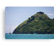 Ocean Mountain Canvas Print