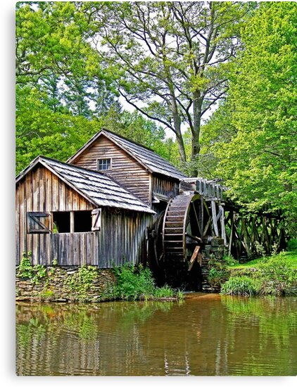A Day at Mabry Mill by lynell