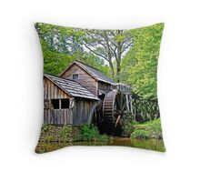 A Day at Mabry Mill Throw Pillow