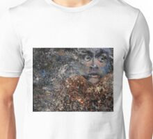 A Horrified Look To the Side Unisex T-Shirt