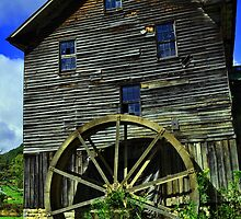 White's Mill, Abingdon Virginia by lynell