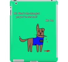 Castle dog iPad Case/Skin