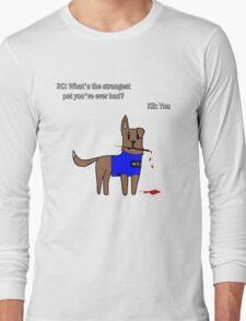 Castle dog Long Sleeve T-Shirt