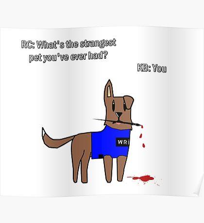 Castle dog Poster