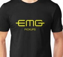 EMG Pickups  Yellow Unisex T-Shirt
