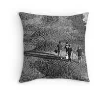 Home time Throw Pillow