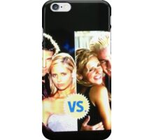 Buffy N Angel or Spike iPhone Case/Skin
