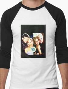 Buffy N Angel or Spike Men's Baseball ¾ T-Shirt