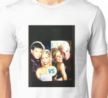 Buffy N Angel or Spike Unisex T-Shirt