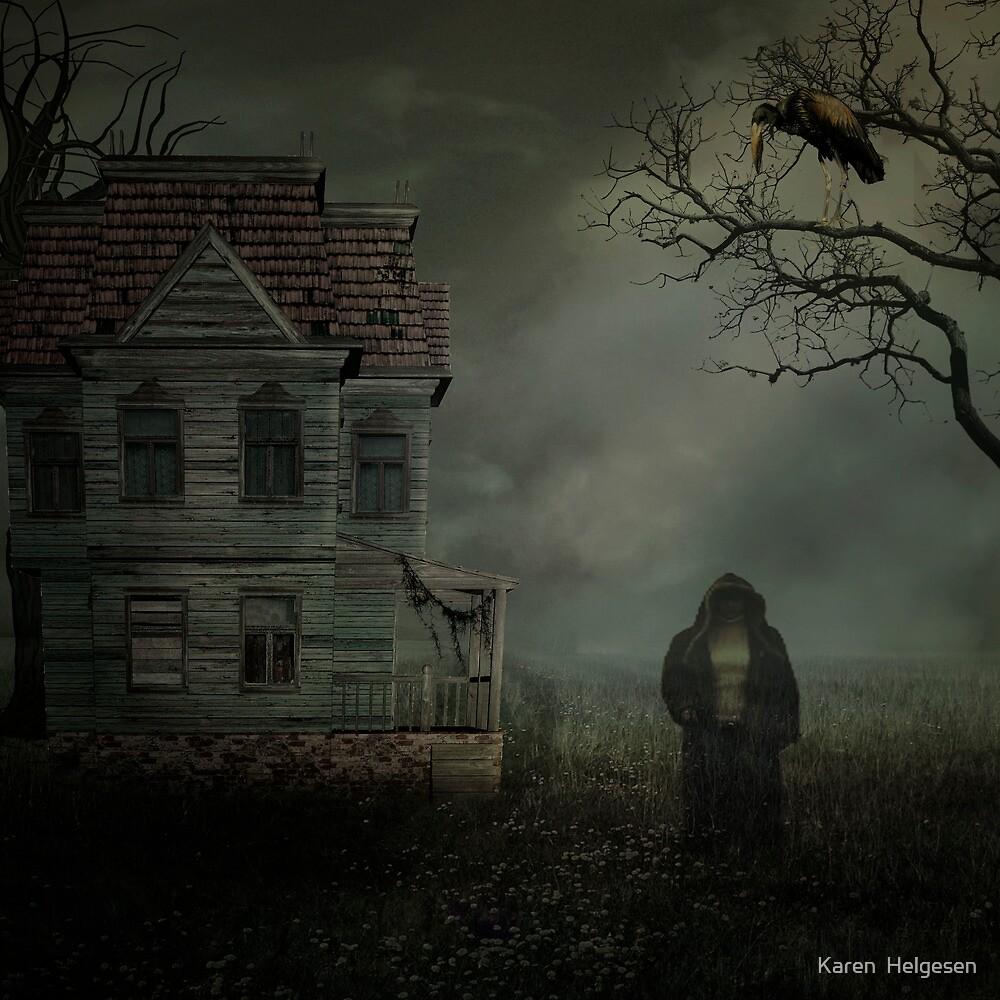 The Visitor... by Karen  Helgesen
