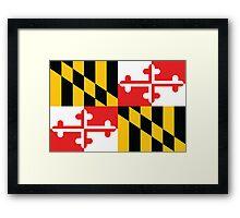 Maryland Flag 1 Framed Print