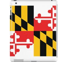 Maryland Flag 1 iPad Case/Skin