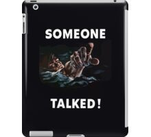 Someone Talked - WW2 Propaganda iPad Case/Skin