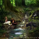The Reading Club by secondnatureart