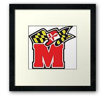 Maryland M Logo Framed Print