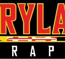 Maryland Terrapins Logo Black Sticker