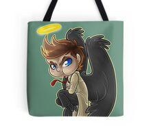 Pouty Castiel Tote Bag